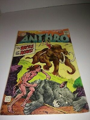 1968 DC Anthro comic book issue 1