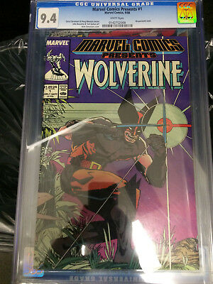 Marvel Comics Presents Wolverine #1 CGC graded 9.4 white pages