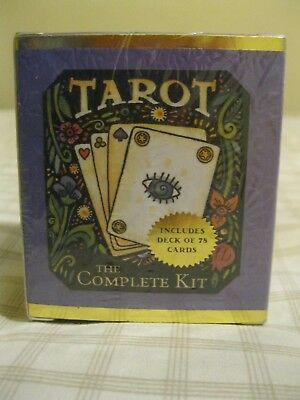 TAROT: THE COMPLETE KIT By Running Press - 78 card deck, mat & instructions NEW