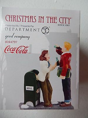 Department 56 (NEW) Coca-Cola Good Company #4044797 FREE SHIPPING