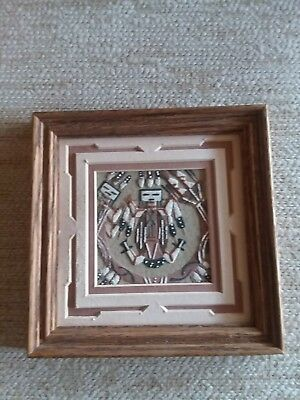 Native American Navajo Sand Painting By Marlene Doby Father Sky