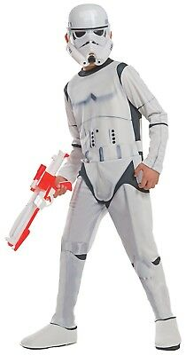 Rubie's Official Child Star Wars Stormtrooper Deluxe Costume - Medium Size