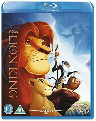 The Lion King [Blu-ray] [Region Free] -  CD RGVG The Fast Free Shipping