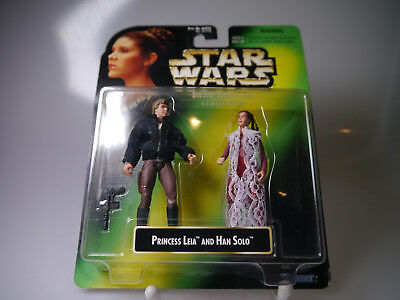 Star Wars / POTF/  Princess Leia Collection / Princess Leia & Han Solo / Kenner