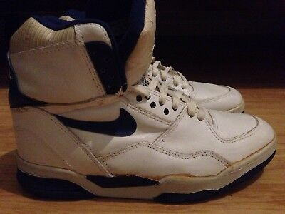 19021824c42ddd Nike Air Delta Force ST Collectible White Blue Original 1989 Basketball  Shoes