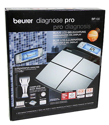 Beurer BF 100 Body Complete Diagnose Pro Diagnosewaage NO589 C+