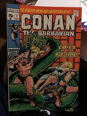 Conan The Barbarian #7! In VF Condition! LOOK! WOW! RARE!