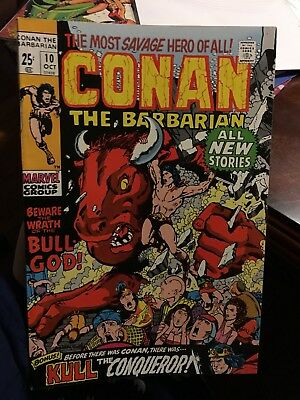 Conan The Barbarian #10! In NM Condition! LOOK! WOW! RARE!