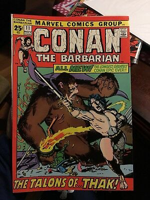 Conan The Barbarian #11! In NM Condition! LOOK! WOW! RARE!