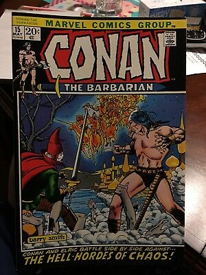 Conan The Barbarian #15! In VF/NM Condition! LOOK! WOW! RARE!