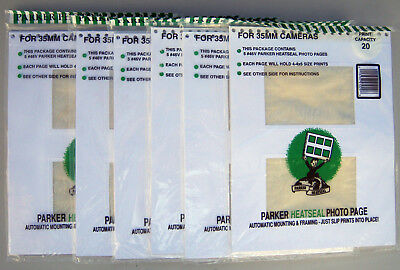 6 Packs Parker Photo Albums  Refill Pages 46V