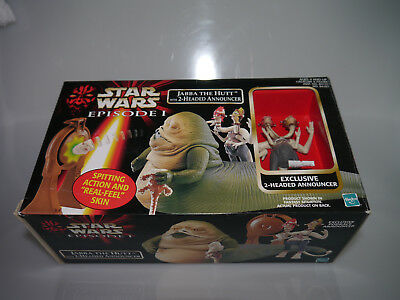 Star Wars Episode 1 / Jabba The Hutt with 2-Headed Announcer / OVP