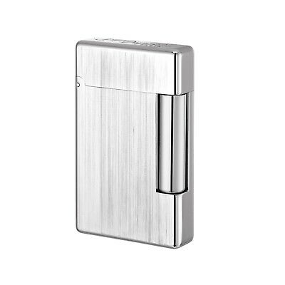 S.T. DUPONT ACCENDINO LIGHTER FEUERZEUG FINITURA IN BRONZO INITIAL 020804 grey