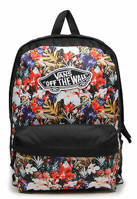 26d45c77f8 Vans REALM Floral Backpack  NEW Flowers Pineapple SCHOOL BAG Cuban FREE  SHIPPING