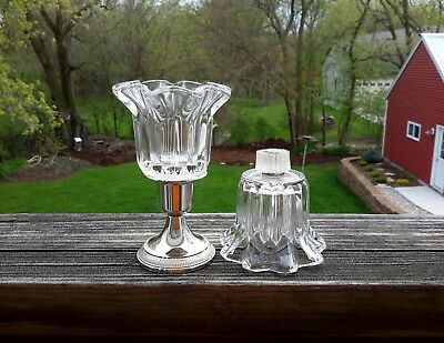 PartyLite P0315 Chantilly Peglites (2) Replacement Votive Cup Candle Holders
