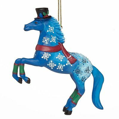 TRAIL OF PAINTED PONIES - Jack Frost - Christmas Ornament - Resin
