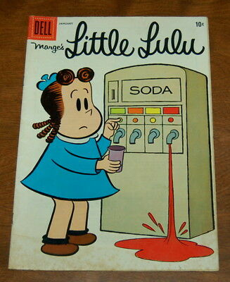 MARGE'S LITTLE LULU #151 Silver Age 1961 DELL DAISY AD The Snoopers VG