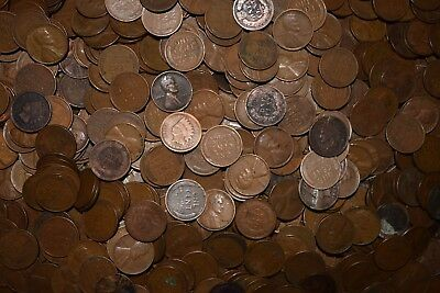 1859-1958 PD&S Indian & Wheat Penny Unsearched 10 Coin Lot - AMAZING DEAL!!