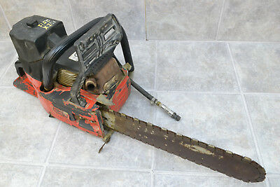 ICS 633GC Concrete Chainsaw Tested + Working Cranks VERY Easy
