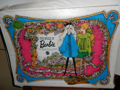 Large lot of VINTAGE Barbie items ~ Clothes, accessories, dolls, case ~AS IS