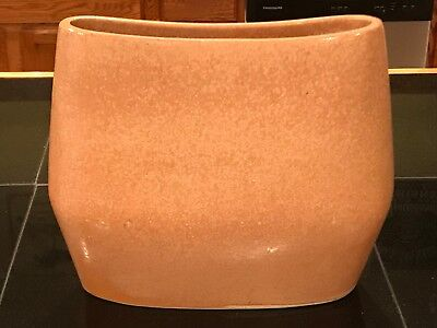 Russel Wright Bauer Pillow Vase Pottery Vintage Eames Era Mid Century Large
