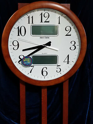 Estado Wall Clock by Rhythm Clocks