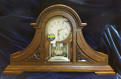 Joyful King Mantel Clock by Rhythm Clocks
