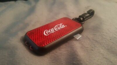 Coca-Cola Clip-on Reflector LED Safety Light, Employee Exclusive