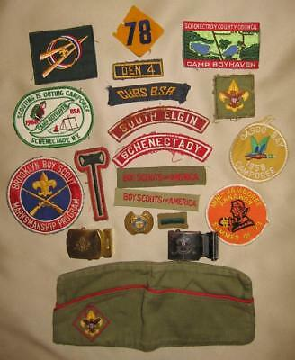 Large Lot of Boy Scout and Cub Scout Patches and Memorabilia, 1950s-1960s