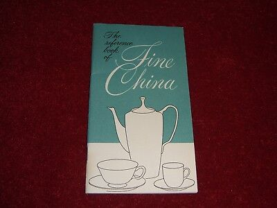 Lenox China 1962 - The Reference Book of Fine China