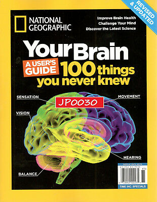 National Geographic 2018, Your Brain, Brand New/Sealed UPDATED