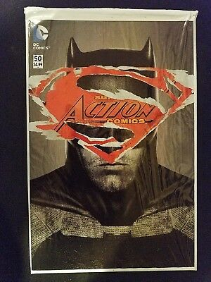 DC Action Comics, Vol. 2 # 50 (1st Print) Martin Ansin Batman/Superman Polybag