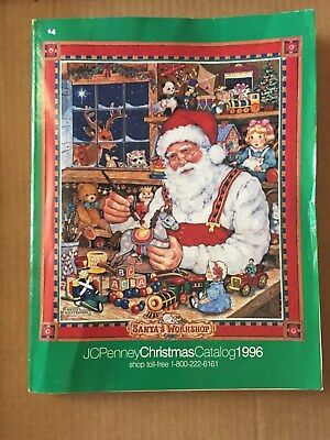 1996 Jc Penney Christmas Catalog With 631 Color Pages Clean & Complete L@@k