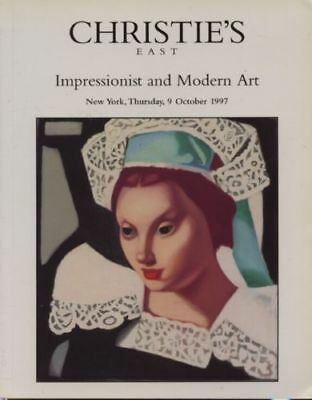 Christie's Auction New York October 1997 Impressionist and Modern Art