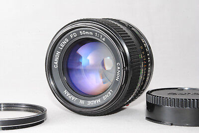 Canon New FD NFD 50mm f/1.4 MF Lens from Japan #615