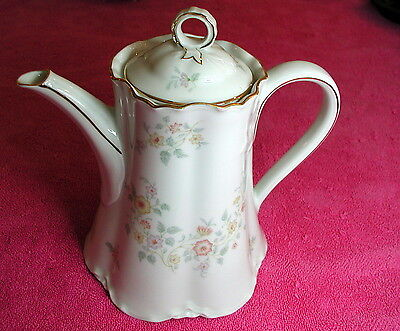 "Hutschenreuther (The Old Charleston) 6 1/4"" COFFEE POT Pat #31011  Exc"