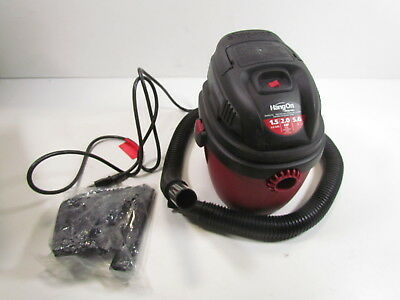 Shop-Vac 2030100 1.5-Gallon 2.0 Peak For HP Wet Dry Vacuum, Small, Red-Black