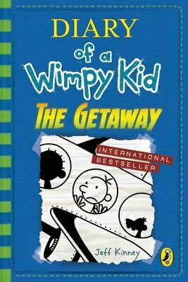 Diary of a wimpy kid: The getaway by Jeff Kinney (Hardback) Fast and FREE P & P
