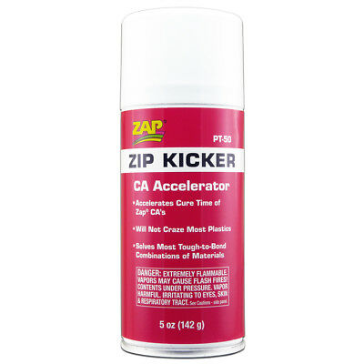 ZAP PT50 Zip Kicker (CA Accelerator) Aerosol/Spray Can (5 oz / 142 g)