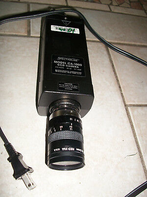 spectroline ca-1000 ccd  camera  Spectronics  .  condition unknown