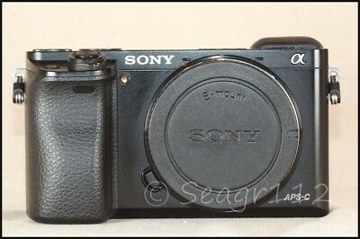 Sony E Mount a6000 24.3MP Digital Camera - No Lens - Near Mint w/ 5100 Clicks