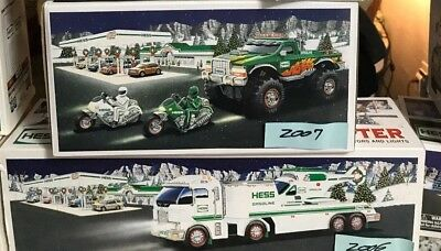 Hess Trucks Every Year 2005, 2006, 2007 BRAND NEW