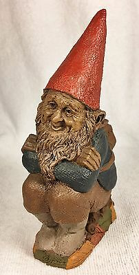 JUSTIN-R 1990~Tom Clark Gnome~Cairn Item #5109~Ed #23~COA & Story are Included