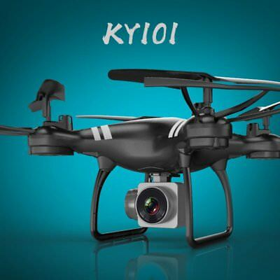 KY101 2.4G 4CH FPV RC 6Axis Drones Altitude Hold Wifi 0.3MP RC Camera Quadcopter