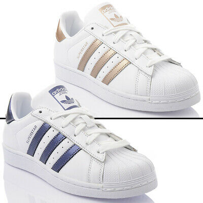 NEU ADIDAS SUPERSTAR W Damen EXCLUSIVE Sneaker Leder Turnschuhe ORIGINALS  SALE
