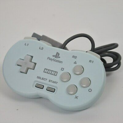 HORI POCKET CONTROLLER Blue PS1 Playstation Working Tested Ref/1895 Japan