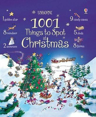 1001 Things to Spot at Christmas by Alex Frith Hardback Book The Cheap Fast Free