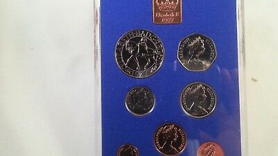 Great Britain 1977 Proof Set from original owner