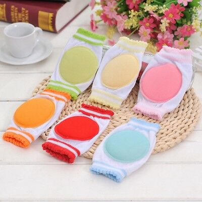 Kids Safety Soft Elbow Anti-slip Infants Toddlers Baby Knee Pads Protector Gift