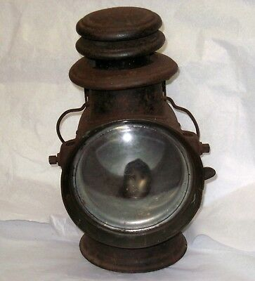 Dietz Union Driving Carriage Lamp Automobile Light Circa 1907 Antique w Burner